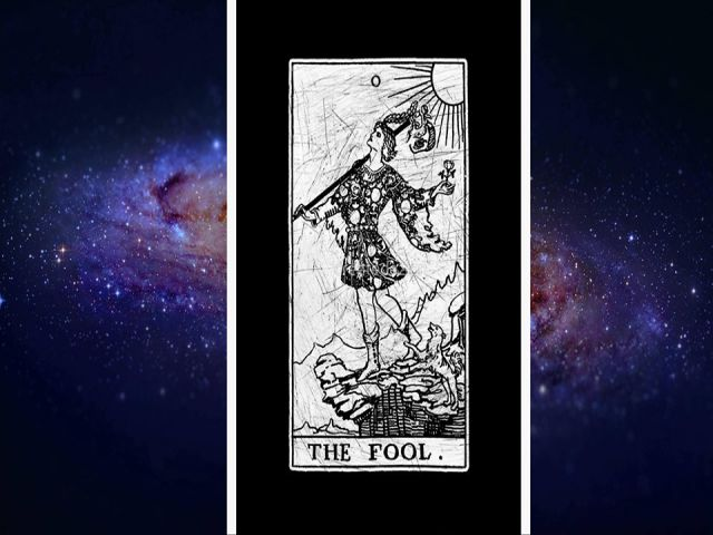 Lá the fool tarot