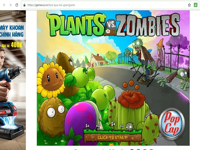 Plants vs Zombies bản online