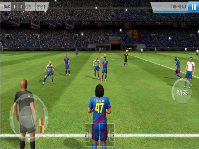 Game bóng đá offline - Real Football 2013
