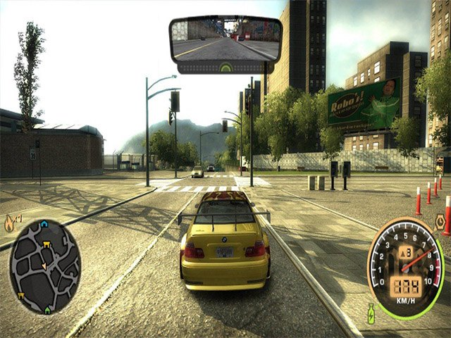 Game đua xe ô tô offline hay Need For Speed Most Wanted 2005