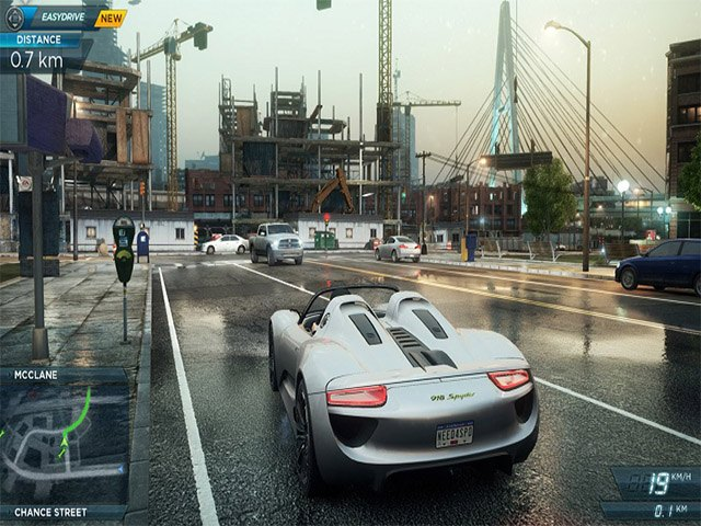 Game đua xe offline hay - Need for speed: Most wanted 2012