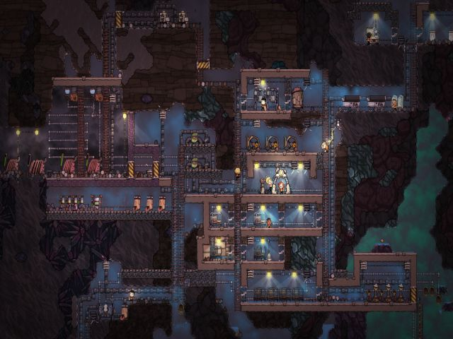 Game sinh tồn offline pc Oxygen Not Included với nội dung lạ